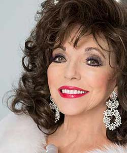 Joan Collins on Tour at The Lowry